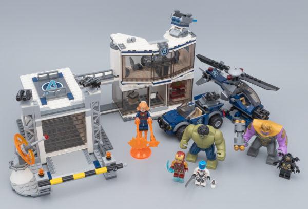 LEGO GANT THANOS AVEC LES 6 PIERRES D INFINITÉ  *NEUF*