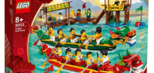LEGO 80103 Dragon Boat Race : Le set sera aussi disponible en France