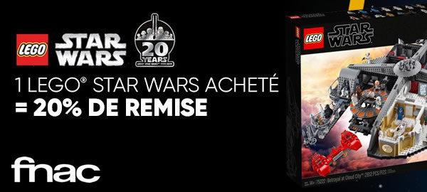 May the 4th : quelques sets LEGO Star Wars à prix réduit sur FNAC.com