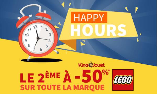 Chez King Jouet : -50% sur le 2ème produit LEGO acheté