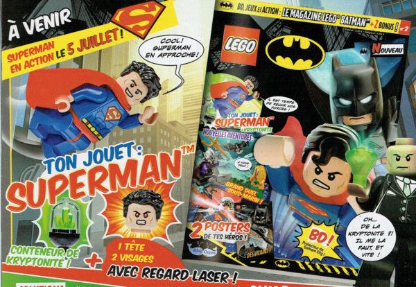 lego batman magazine juillet superman