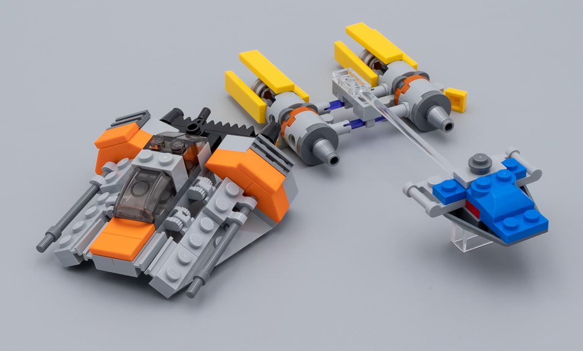 Boîtes de 2 LEGO transparent Neon SPACE ROCK 3 Point de cristal
