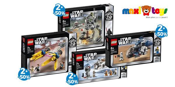 Chez Maxi Toys : -50% sur le 2ème produit LEGO Star Wars