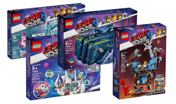 Sur le Shop LEGO : les nouveautés The LEGO Movie 2 et les minifigs Disney série 2 sont disponibles