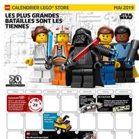 Le Store Calendar officiel LEGO