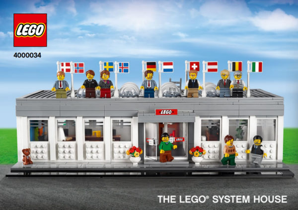 4000034 The LEGO System House