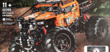 LEGO Technic 42099 4x4 X-treme Off-Roader : premiers visuels