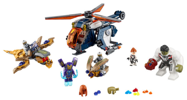76144 Avengers Hulk Helicopter Drop