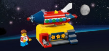 Sur le Shop LEGO : LEGO Ideas 40335 Space Rocket Ride offert dès 85 € d'achat