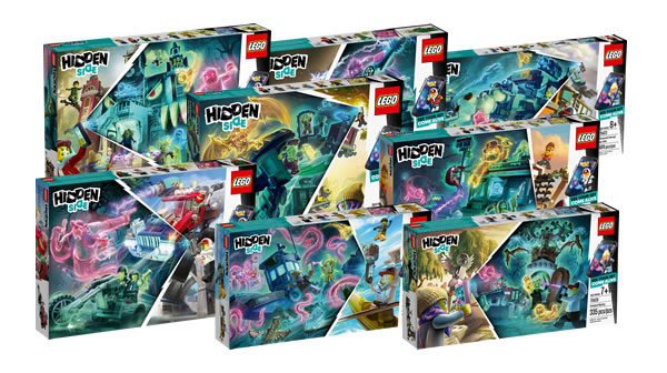 Nouveautés LEGO Hidden Side 2019