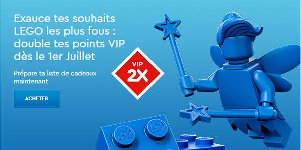 Points VIP doublés sur le Shop LEGO : C'est parti !