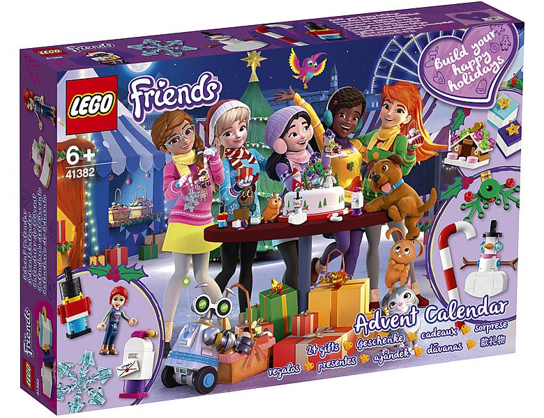 ▷ Calendriers de l'Avent LEGO CITY et Friends 2019 : les visuels