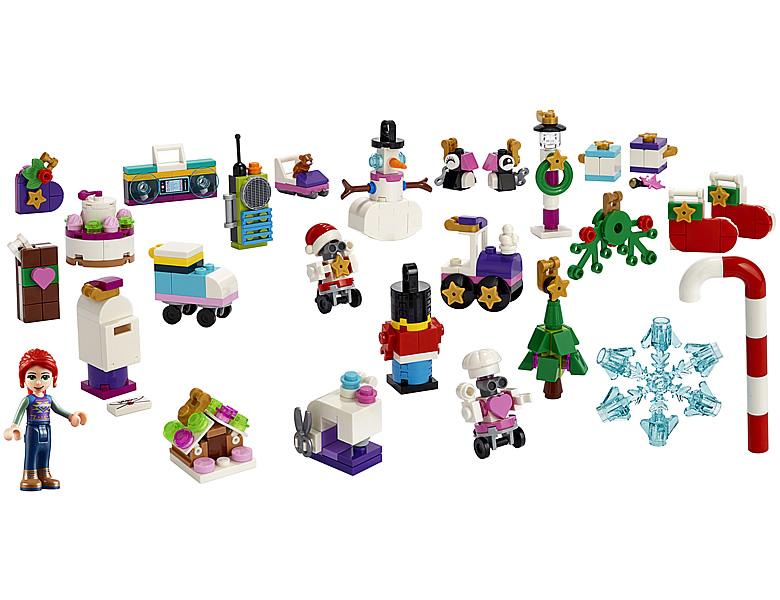 Calendrier Lego City.Calendriers De L Avent Lego City Et Friends 2019 Les
