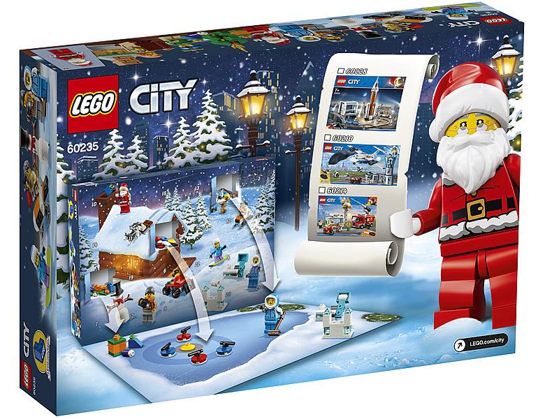 Calendrier De L Avent Lego City 2020.Calendriers De L Avent Lego City Et Friends 2019 Les