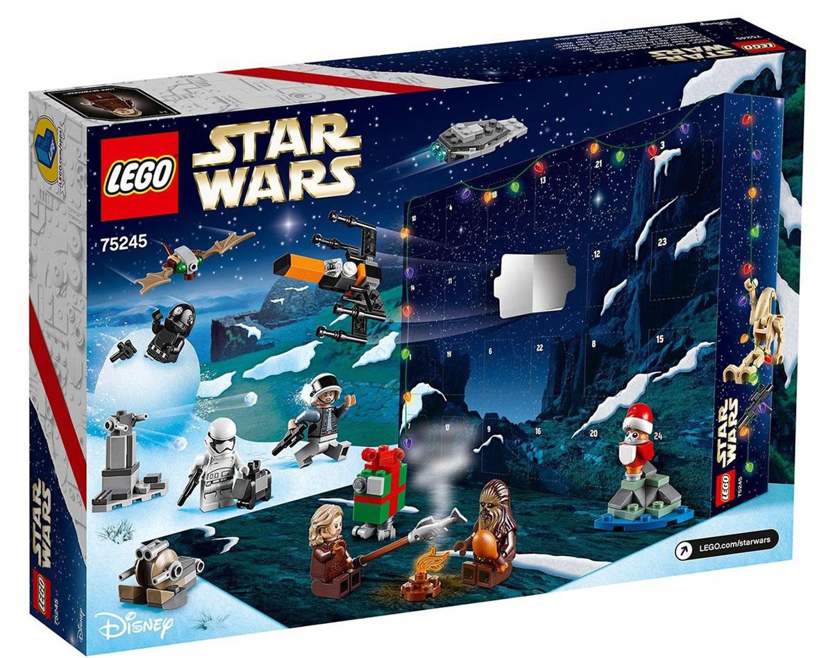 75245 lego star wars advent calendar 2019 les visuels. Black Bedroom Furniture Sets. Home Design Ideas
