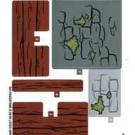 75947 lego harry potter hagrid hut buckbeak resuce stickers