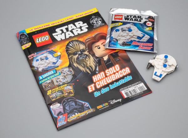 lego starwars magazine millennium falcon kessel run july 2019 1 1