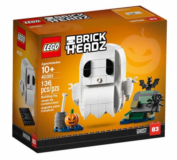 Nouveauté LEGO BrickHeadz 2019 : 40351 Halloween Ghost