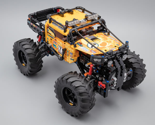 Vite testé : LEGO Technic 42099 4x4 X-treme Off-Roader