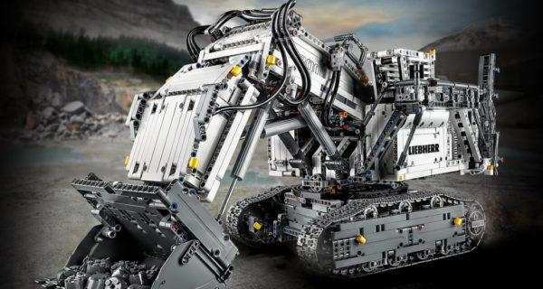LEGO Technic 42100 Liebherr R 9800 Excavator : encore des visuels