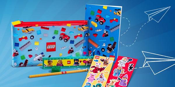 Sur le Shop LEGO : Le pack 5005969 Back to School offert dès 55 € d'achat