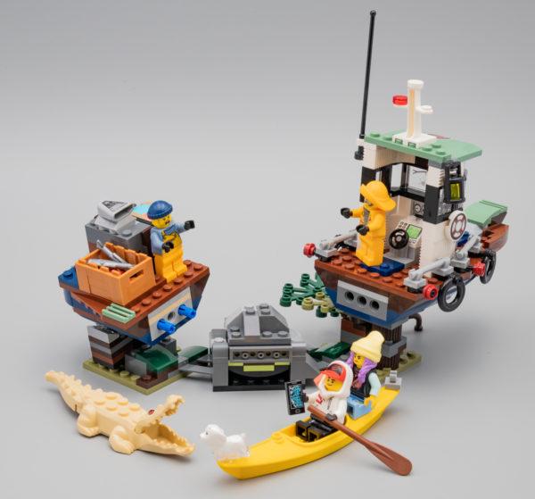Vite testé : LEGO Hidden Side 70419 Wrecked Shrimp Boat