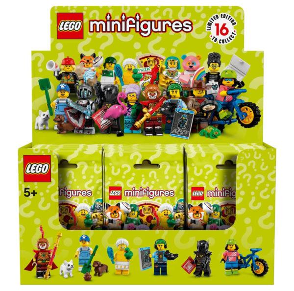 LEGO 71025 Collectible Minifigures Series 19 : Trois séries complètes par boite
