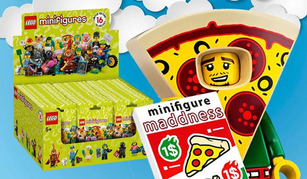 Chez Minifigure Maddness : La boite LEGO 71025 Série 19 est en précommande