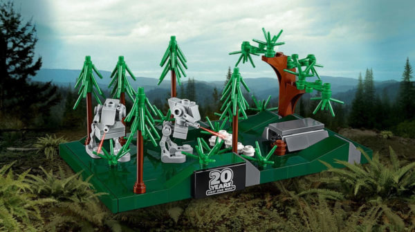Sur le Shop LEGO : le set LEGO Star Wars 40362 Battle of Endor offert dès 55 € d'achat