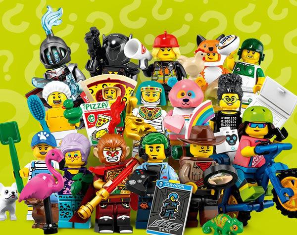 LEGO 71025 Collectible Minifigures Series 19 : La boite de 60 sachets en vente chez LEGO
