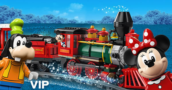 Sur le Shop LEGO : le set 71044 Disney Train and Station est disponible