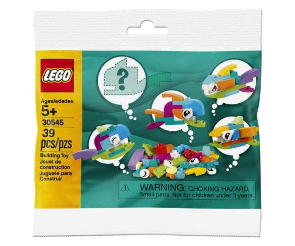 LEGO 30545 Free Fish Builds