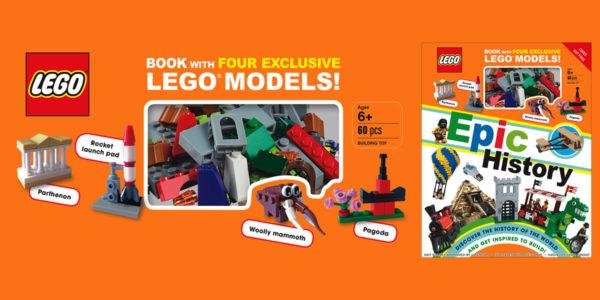 Nouveau livre à paraître en 2020 : LEGO Epic History