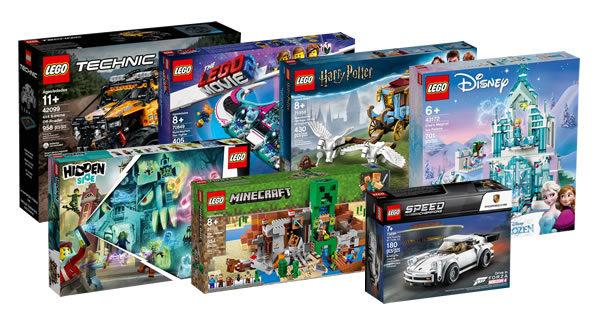 Sur le Shop LEGO : Les nouveautés du mois d'août sont disponibles
