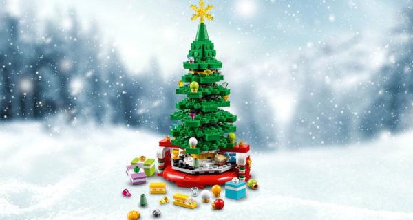Nouveauté LEGO 2019 : 40338 Christmas Tree Limited Edition