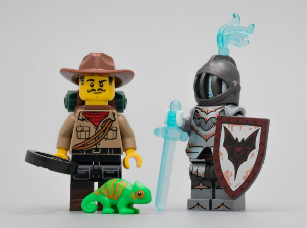 Vite testé : LEGO 71025 Collectible Minifigures Series 19 (Partie 2)