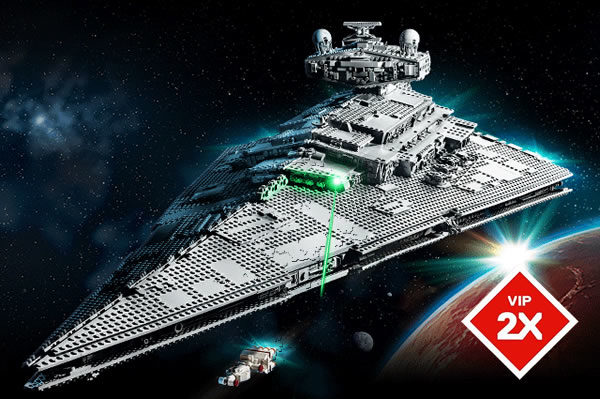 LEGO Star Wars 75252 UCS Imperial Star Destroyer : Points VIP doublés pour le lancement du set