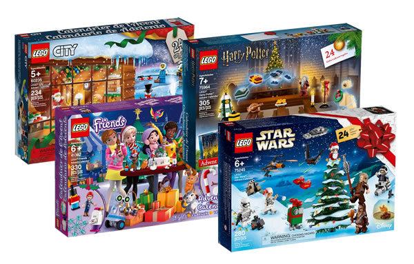Calendrier De L Avent Lego City 2020.Sur Le Shop Lego Les Calendriers De L Avent 2019 Sont