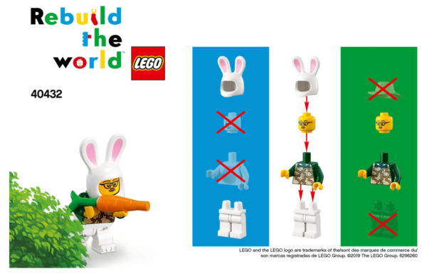 Nouvelle campagne marketing chez LEGO : Rebuild the World...