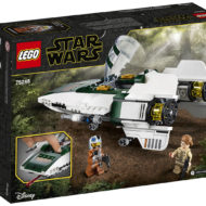 75248 Resistance A-Wing Starfighter