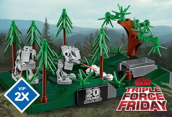 Sur le Shop LEGO : les offres du Triple Force Friday sont disponibles