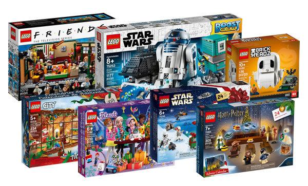 Sur le Shop LEGO : les nouveautés de septembre sont disponibles