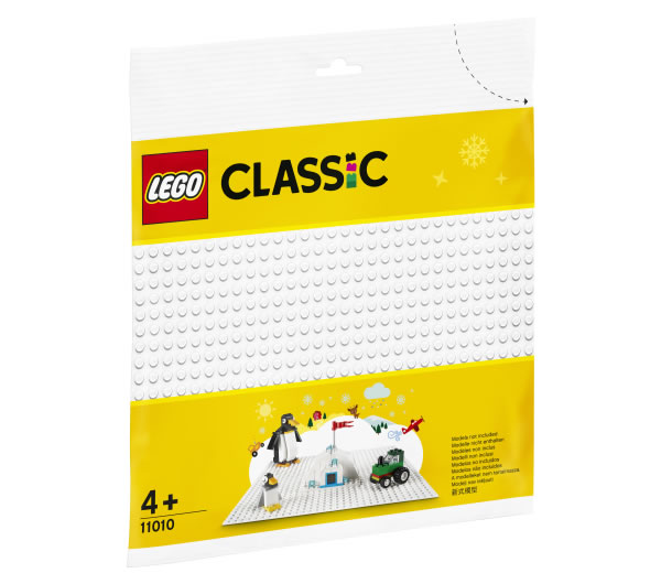 11010 LEGO CLassic White Baseplate
