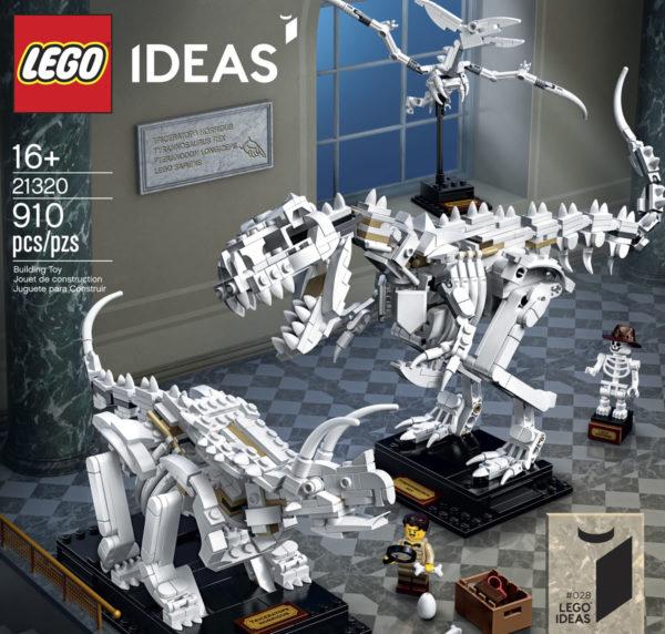 LEGO Ideas 21320 Dinosaur Fossils : Tout ce qu'il faut savoir