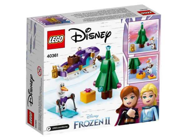 40361 Olaf's Traveling Sleigh