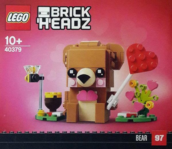LEGO BrickHeadz 40379 Bear