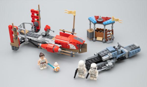Très vite testé : LEGO Star Wars 75250 Pasaana Speeder Chase