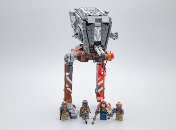 Très vite testé : LEGO Star Wars 75254 AT-ST Raider