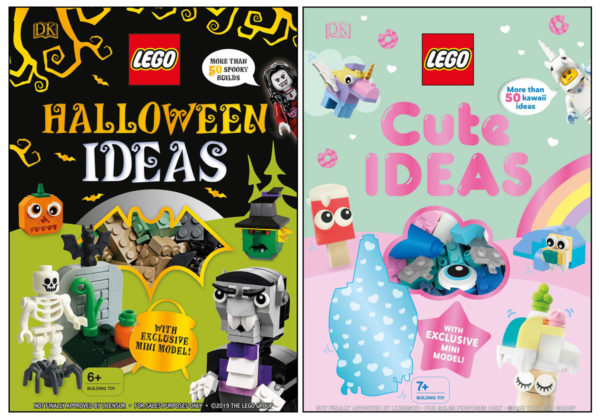 À paraître en 2020 : LEGO Halloween Ideas et LEGO Cute Ideas