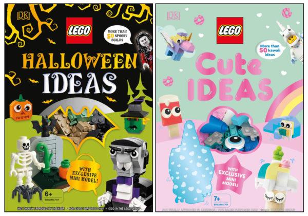 À paraître en 2020 : LEGO Halloween Ideas et LEGO Cute Ideas